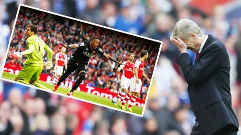 Arsenal và khởi đầu tệ nhất trong kỷ nguyên Arsene Wenger: Cứ cúi mặt đi...