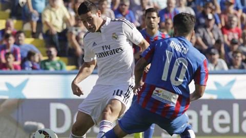 Real Madrid: Quá mạnh, quá linh hoạt