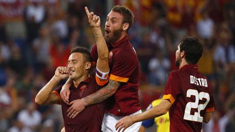 Roma trở lại đường đua!