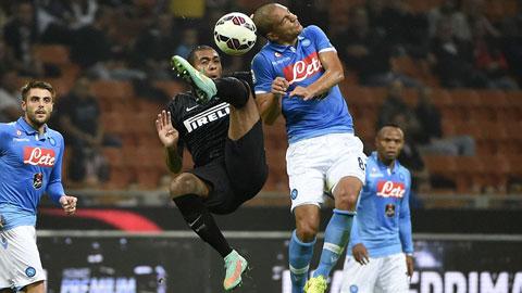 Inter 2-2 Napoli: Tưng bừng về cuối