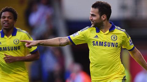 """Fabregas: """"Phong cách chơi quan trọng hơn bàn thắng cho Chelsea"""""""