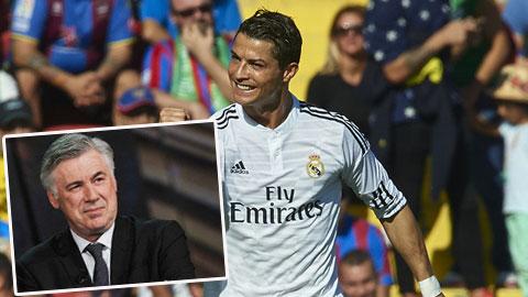 Ancelotti ngăn cản Ronaldo trở lại MU