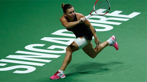 Vòng bảng WTA Finals: Simona Halep và Serena Williams có chiến thắng đầu tiên