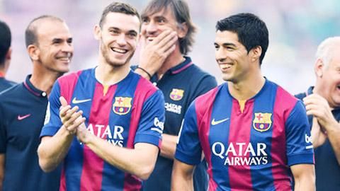 Barca - Ajax, mối quan hệ thân tình