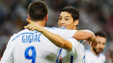 Marseille nâng chuỗi toàn thắng lên 8 trận