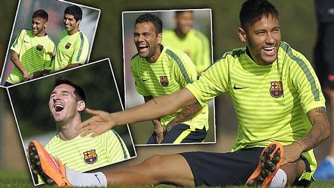 Neymar giải thích lý do tiến bộ trong màu áo Barca