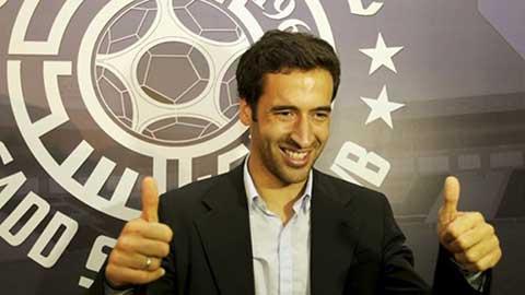 """Raul """"hạ cánh"""" tại đội bóng cũ của Pele &..."""