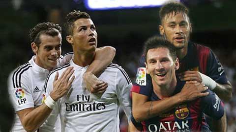 Kinh điển Madrid-Barcelona: Hai hình thức đến với bàn thắng