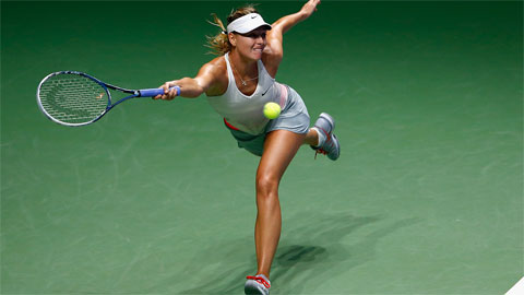Vòng bảng WTA Finals: Maria Sharapova bất ngờ thua trận đầu