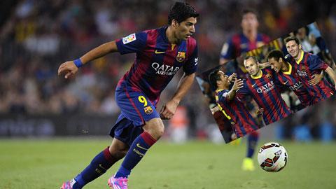 """Barca hướng tới El Clasico: Suarez là """"gia vị"""", không phải """"món chính"""""""
