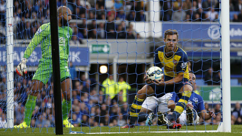 Ramsey trở lại giải cứu Arsenal