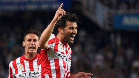 David Villa trở lại Mỹ sớm hơn dự kiến