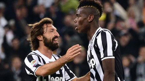 Hết thời Pirlo, chờ Pogba tỏa sáng?
