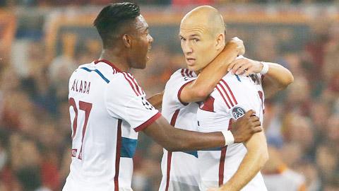 Robben là nguồn cảm hứng bất tận