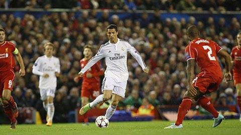 Tường thuật Liverpool 0-3 Real Madrid