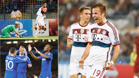 Champions League: Thời của mưa bàn thắng!
