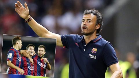 Nhìn lại 100 ngày HLV Enrique dẫn dắt Barcelona: Thành công ngoài mong đợi
