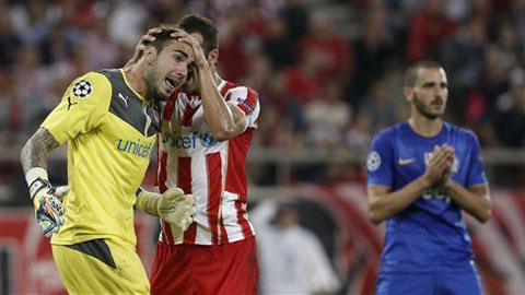 Juventus là bằng chứng cho sự thất thế của bóng...