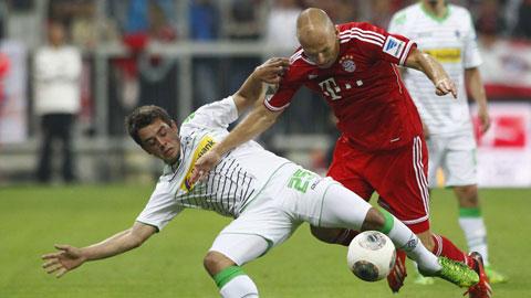 M'Gladbach: Kẻ thách thức bất ngờ của Bayern