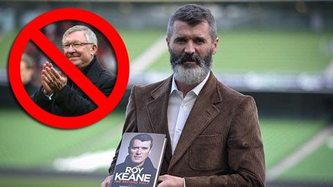 Roy Keane không đời nào trở lại M.U một khi vẫn còn Sir Alex