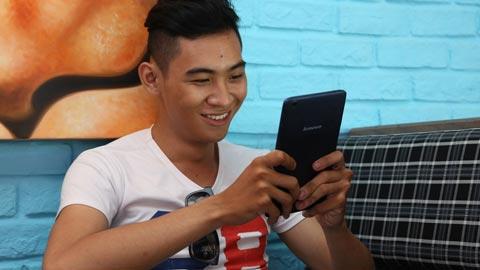 Lenovo TAB A8: Tablet 8-inch hỗ trợ nghe gọi, giải trí tiện lợi