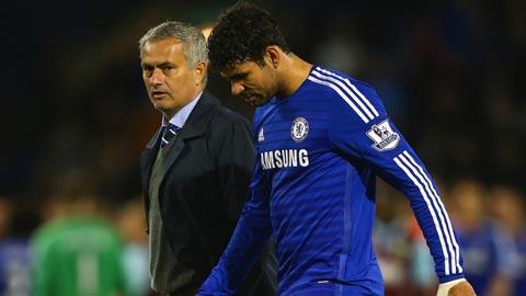 """Mourinho lại """"chơi chiêu"""" với sức khỏe của Diego Costa"""