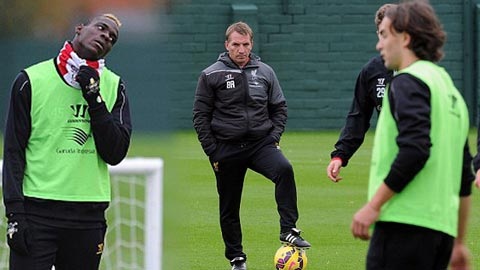 Rodgers không đảm bảo tương lai cho Balotelli