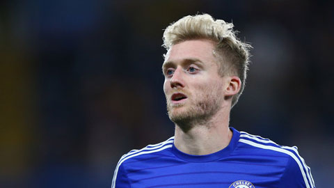 Schuerrle đá tiền đạo ở trận M.U - Chelsea