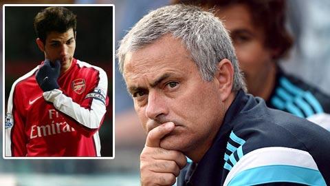 Mourinho tâng bốc Fabregas trước đại chiến với M.U