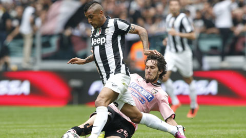 21h00 ngày 26/10, Juventus vs Palermo: Áp lực giữ đỉnh
