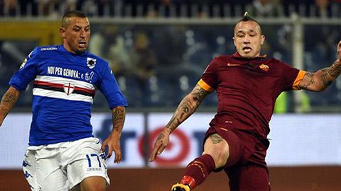 Sampdoria 0-0 AS Roma: Ngày vô duyên của Roma