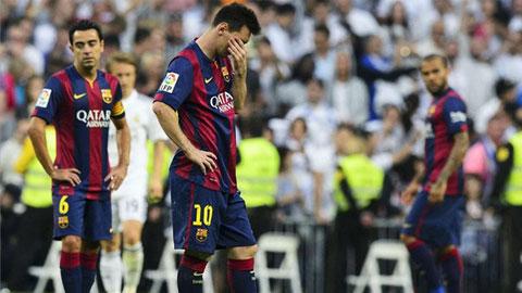 Barca thua Real: Khi Messi mờ nhạt…