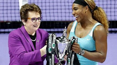 Đánh bại Halep, Serena Williams lần thứ 5 vô địch WTA Finals