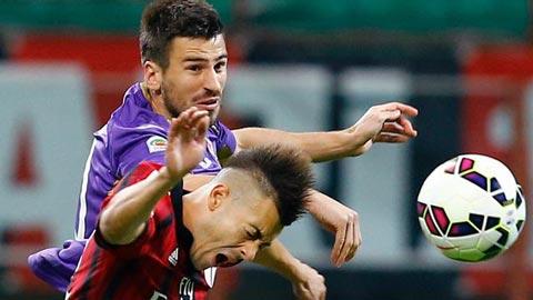 AC Milan 1-1 Fiorentina: Rossoneri lỡ cơ hội vào top 3