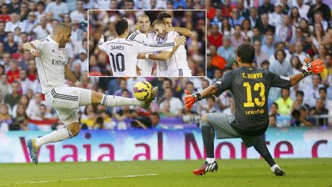 """Karim Benzema: """"Mèo"""" đã hóa """"cáo""""!"""