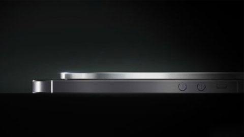 Rò rỉ ảnh smartphone mỏng bằng 1/2 iPhone 5S