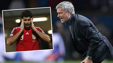 Mourinho cay cú Del Bosque vì chấn thương dai dẳng của Diego Costa