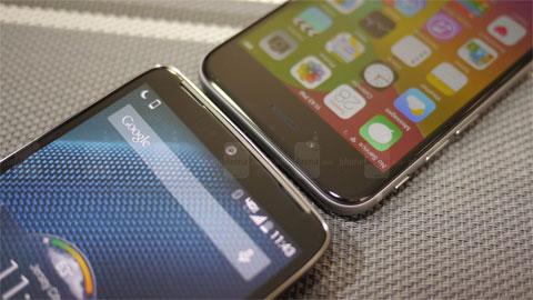 Motorola Droid Turbo vs iPhone 6