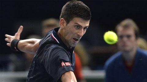 Vòng 2 Paris Masters: ĐKVĐ Djokovic thắng dễ