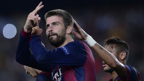 Mourinho bất ngờ muốn chiêu mộ trung vệ thất sủng của Barca