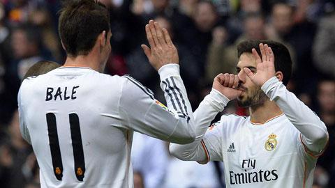 Hãy để Isco thường xuyên đá cặp cùng Bale