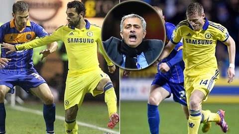 Mourinho không hài lòng với Schuerrle và Salah