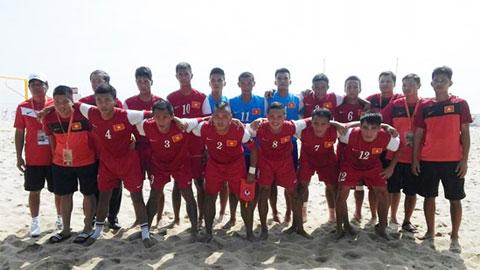 Giải bóng đá bãi biển ĐNÁ 2014: Thua Malaysia 4-6, Việt Nam giành giải Nhì