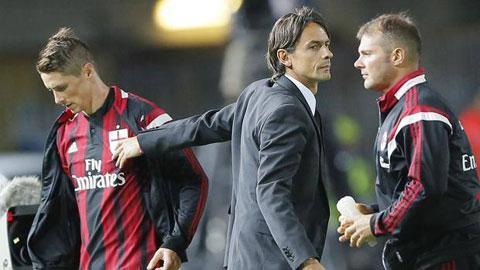 Berlusconi đề nghị HLV Inzaghi phải để Torres ra sân nhiều hơn