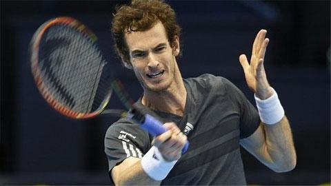 Vòng 2 Paris Masters: Andy Murray cách ATP World Tour Finals đúng 1 trận thắng nữa