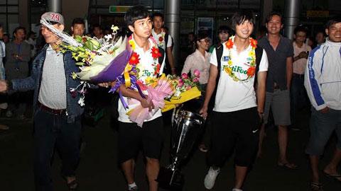 Ủy ban nhân dân tỉnh Gia Lai trao thưởng U19 HA.GL - Arsenal JMG