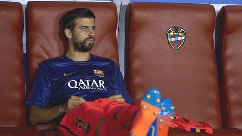 Bartra và Montoya đe dọa vị trí của Pique ở Barca