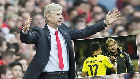 Klopp thay Wenger dẫn dắt Arsenal?