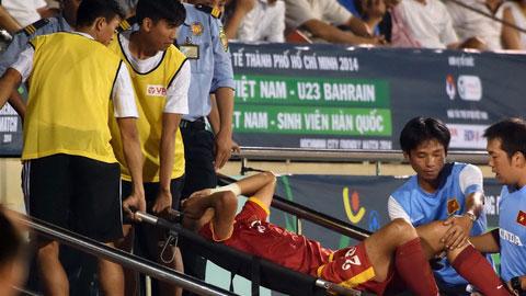 Trung vệ Duy Khánh sớm chia tay đội tuyển Việt Nam