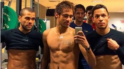 Neymar không còn tự ti vì thân hình